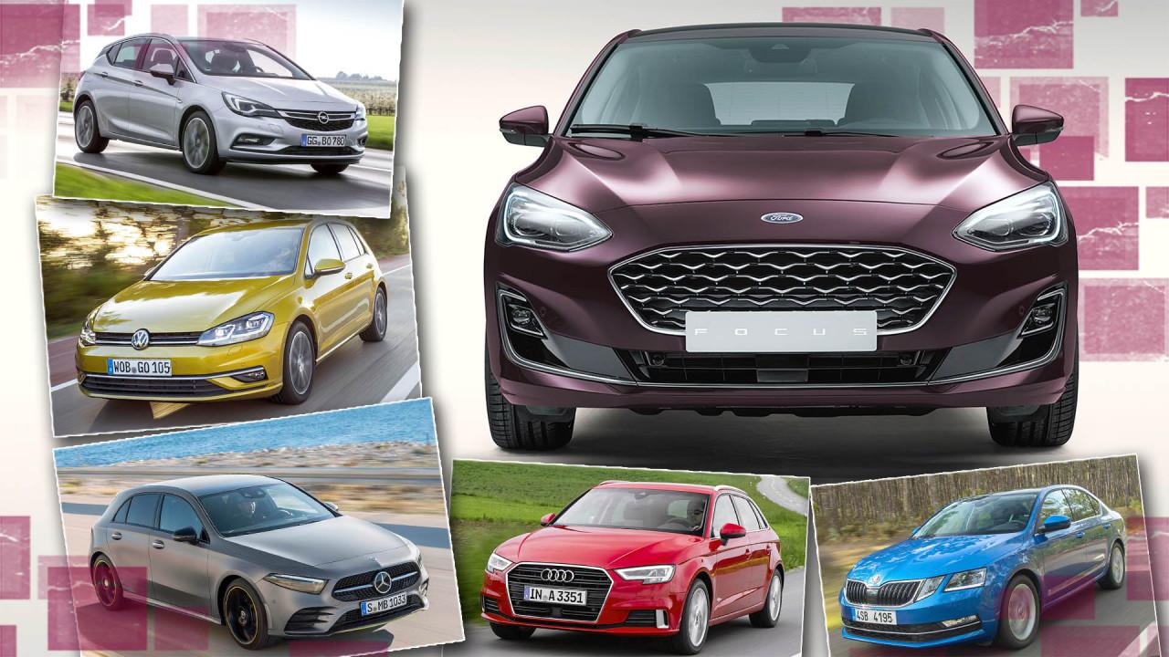 Die Gegner des neuen Ford Focus