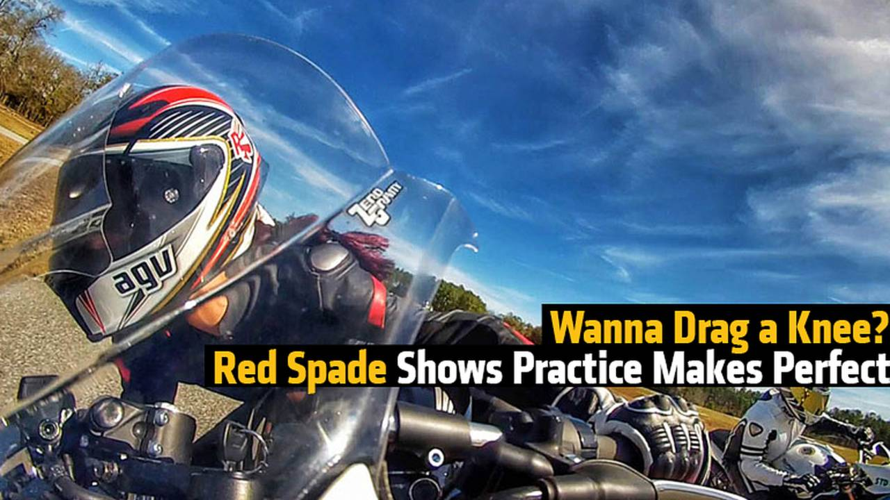 Wanna Drag a Knee? Red Spade Shows Practice Makes Perfect