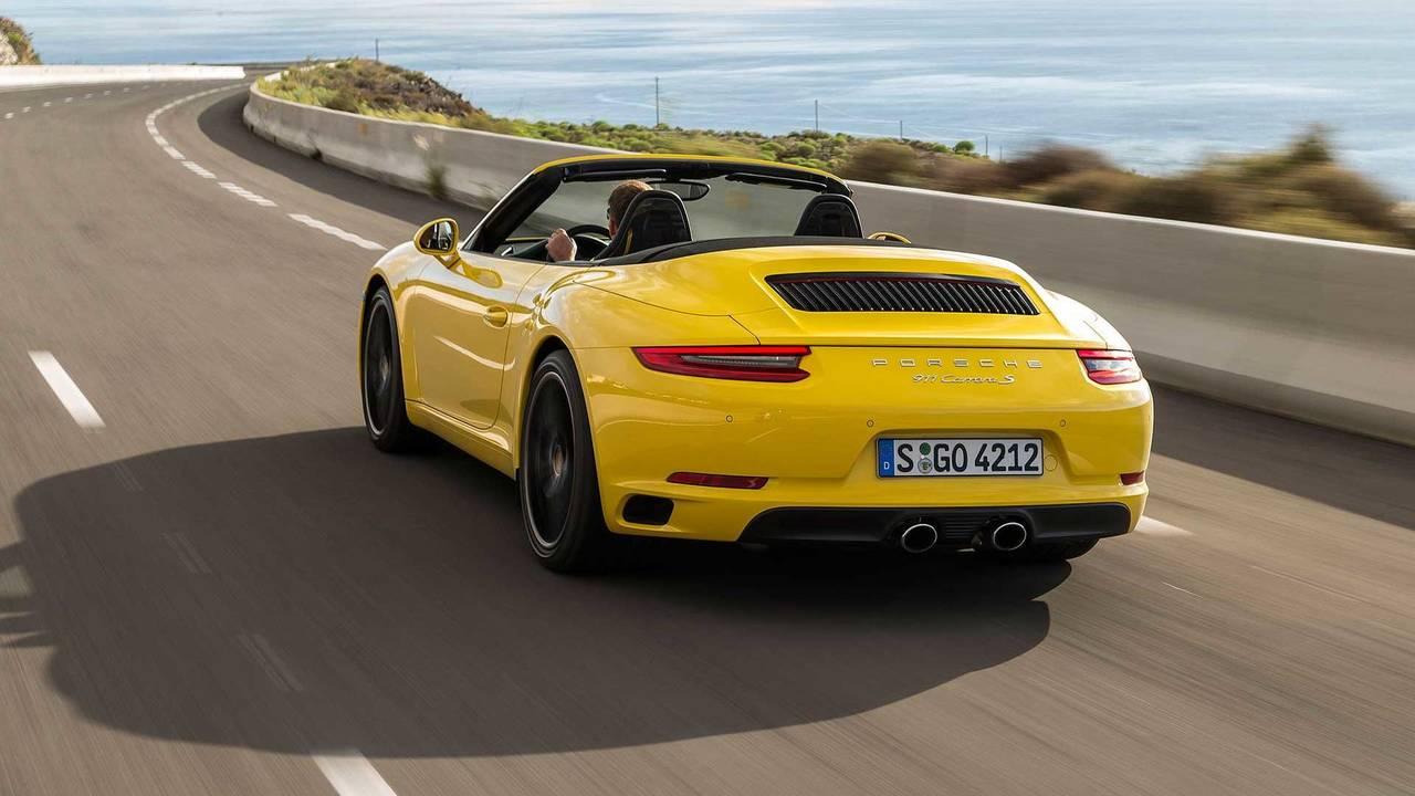 7. Porsche 911 Cabriolet