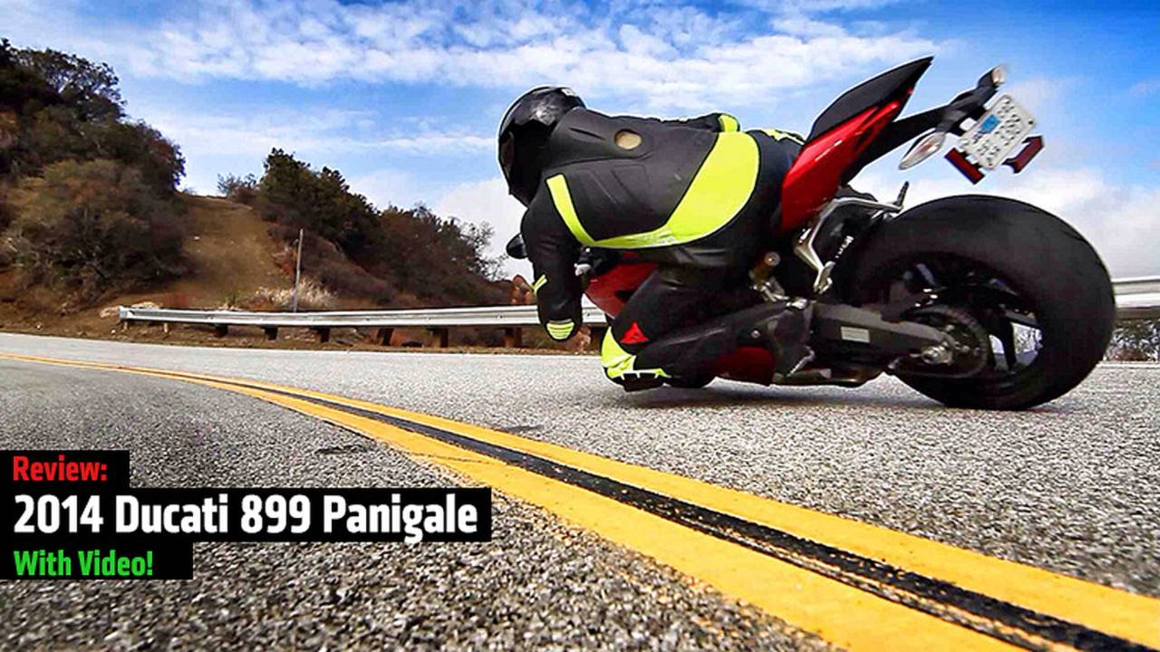 2014 Ducati 899 Panigale Review — With Video!