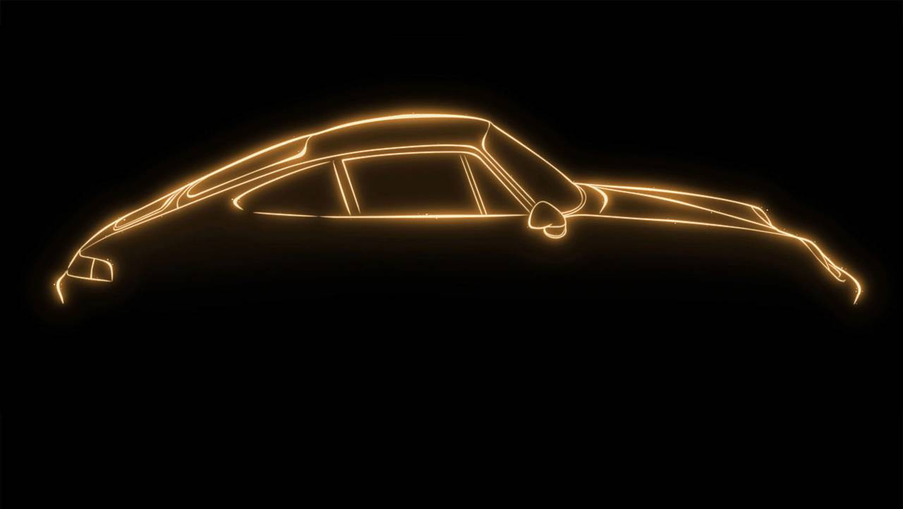 Porsche Project Gold teaser