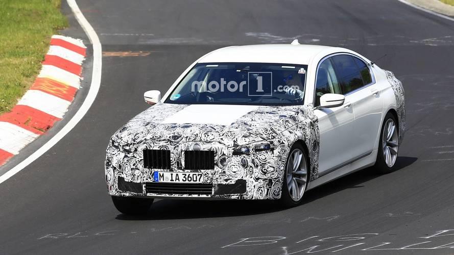 Makyajlı BMW 7 Serisi Nürburgring'de