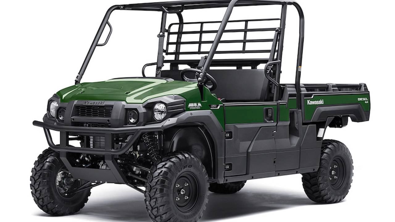 Kawasaki Donates ATVs for Hurricane Relief