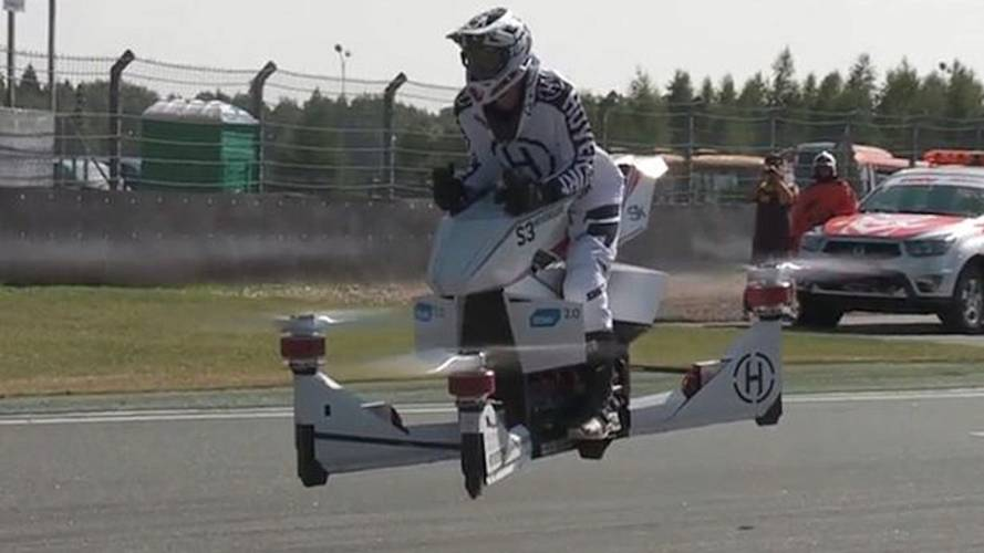 Russians Build Flying Motorcycle