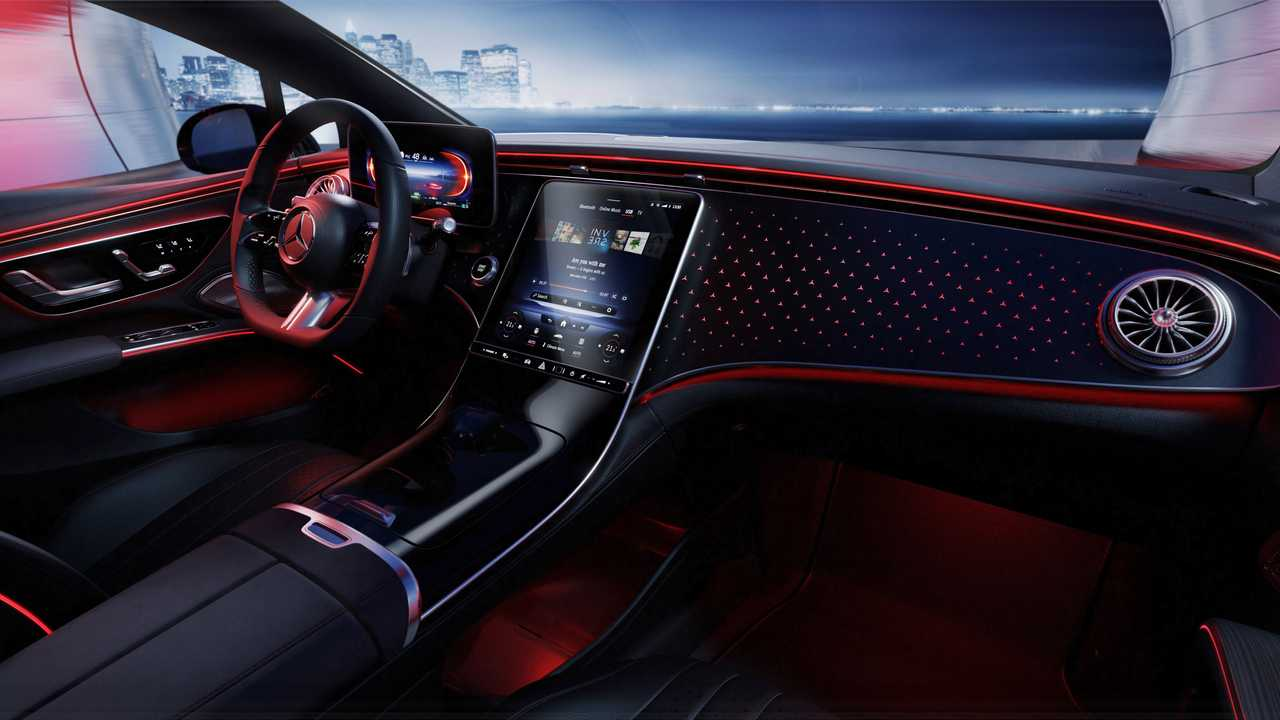 Mercedes EQS kabin