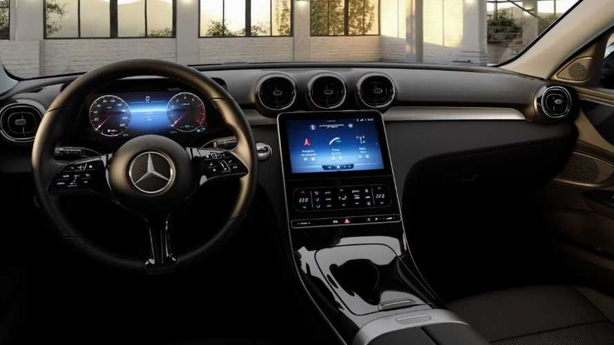 2022 Mercedes C-Class interior base model