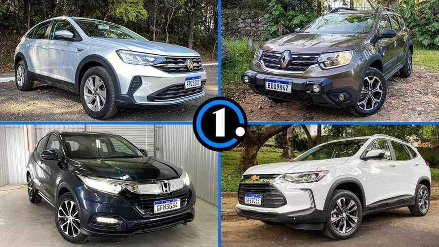 Lista: quais os tamanhos dos porta-malas dos SUVs compactos no Brasil?