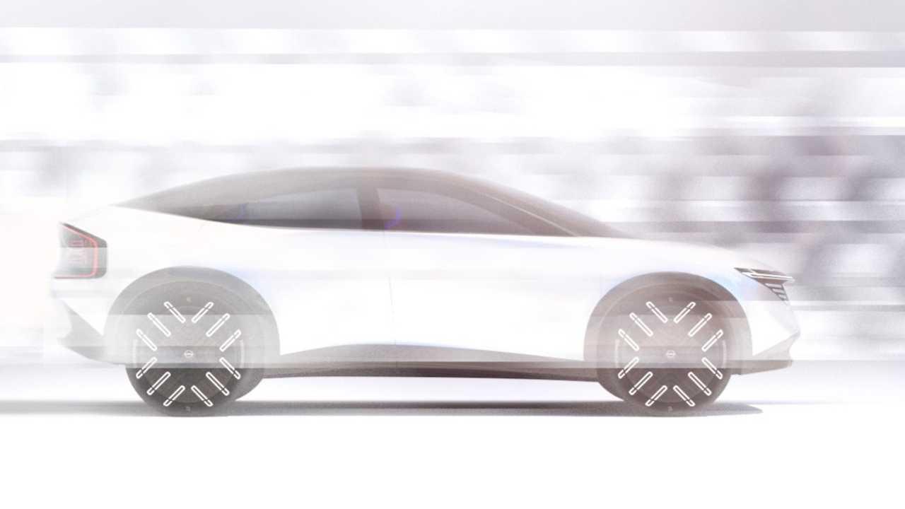 Nissan novo carro eletrico imagem