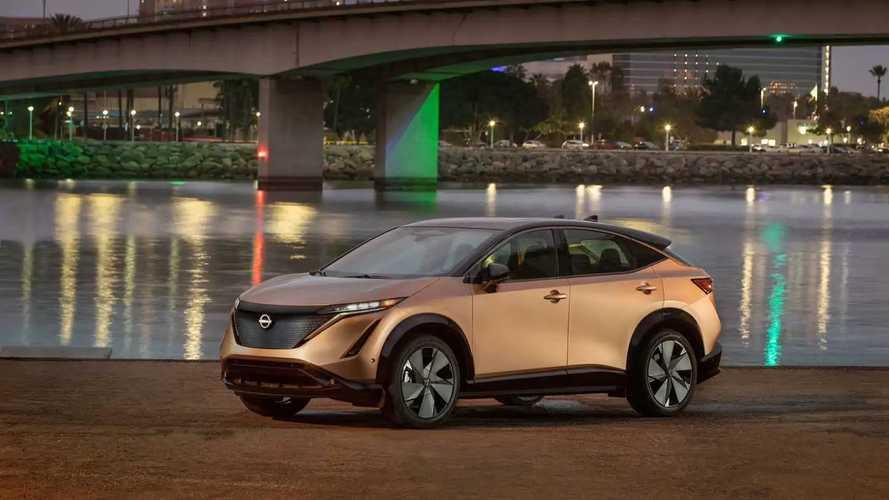 Nissan Ariya In U.S. Production Form