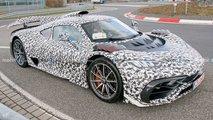 Mercedes-AMG One in neuen Bildern en Detail erwischt