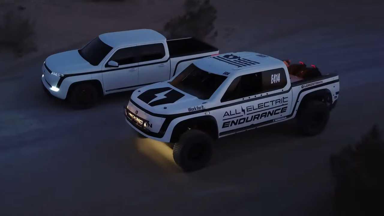 Lordstown Motors San Felipe 250 Race Truck