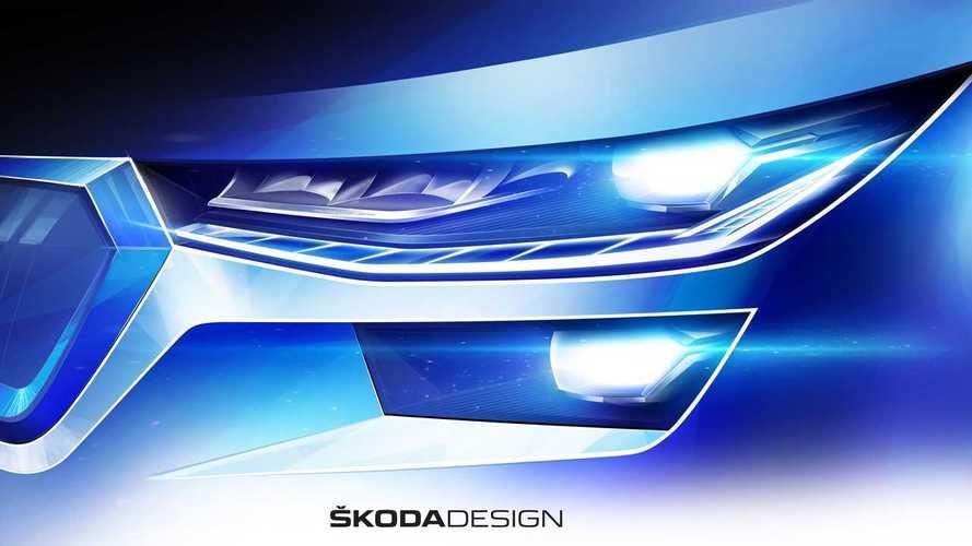 Skoda Kodiaq Facelift Teaser (2021)