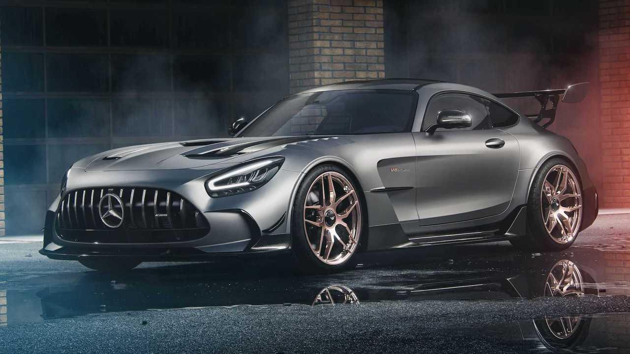 Mercedes-AMG GT Black Series 'Underdock' Center-Locking Wheels