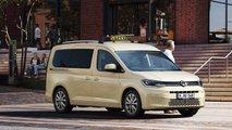 VW Caddy (2021): Neuauflage jetzt auch als Maxi und Benziner