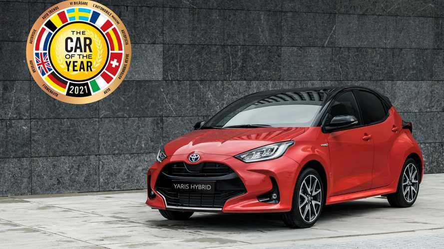 """Toyota Yaris ist """"Auto des Jahres"""" 2021 in Europa"""