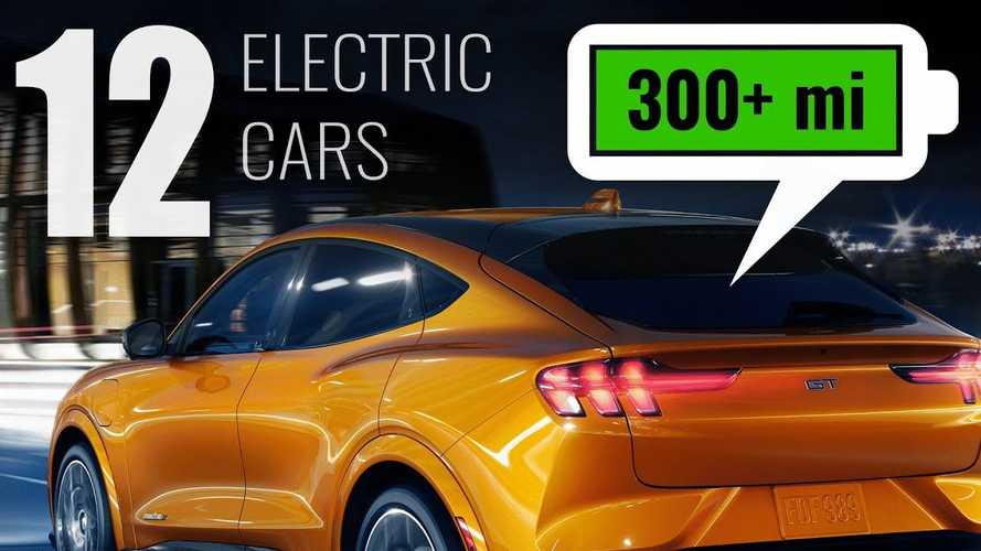 Watch: 12 EVs With Over 300 Miles Of Range Available In 2021
