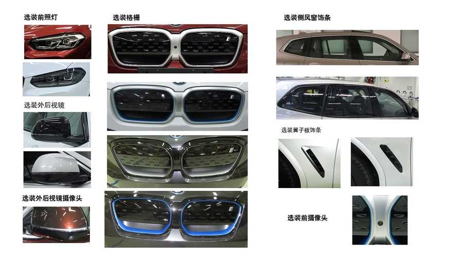 Обновленные BMW X3 и iX3 сертифицировали в Китае