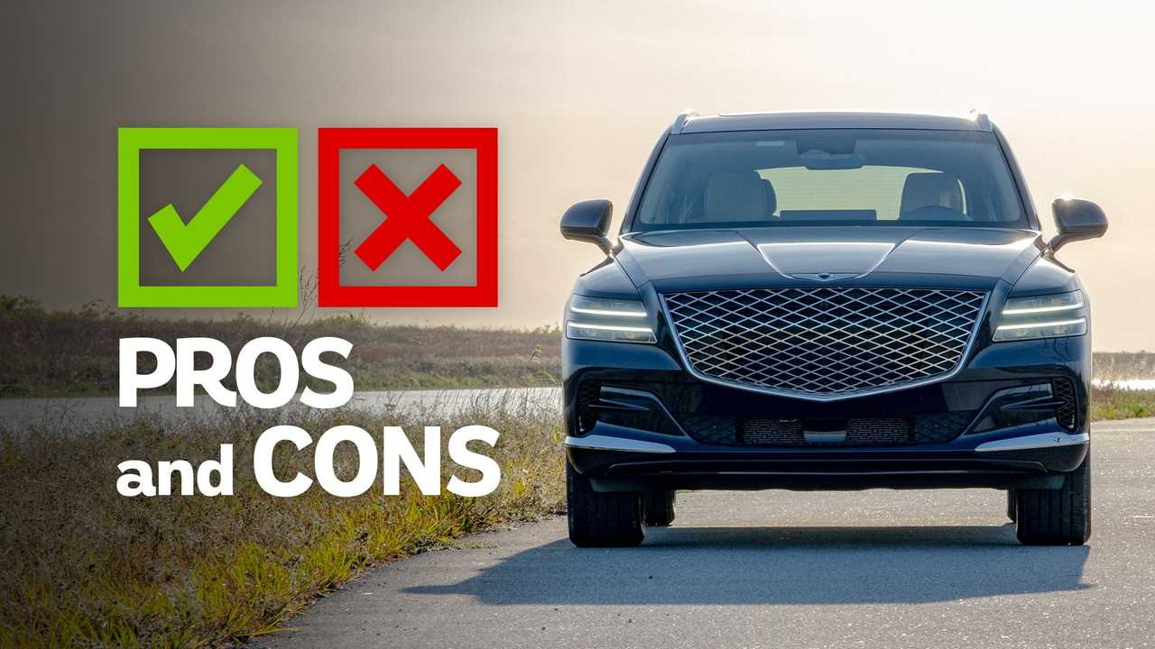 2021 Genesis GV80 Pros And Cond