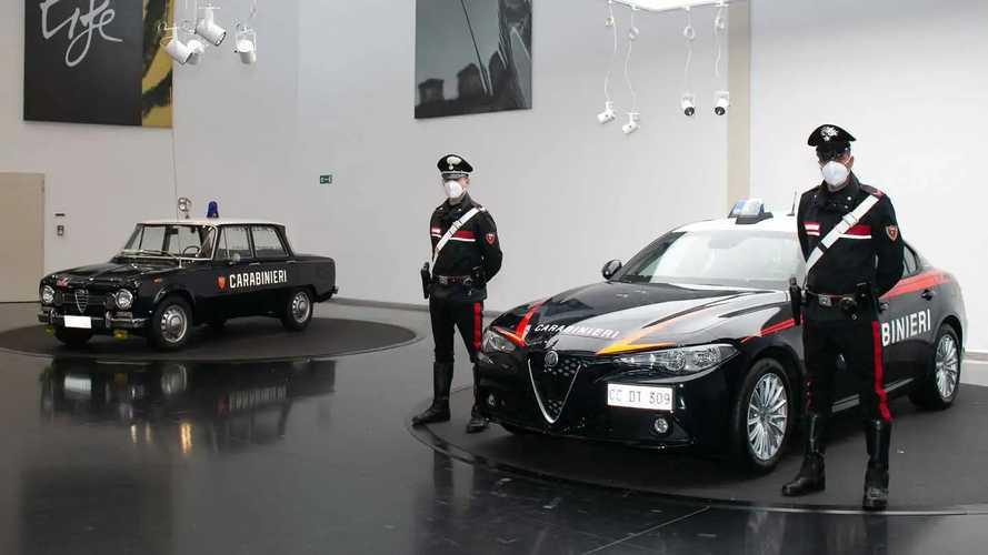 Alfa Romeo Giulia para los Carabinieri
