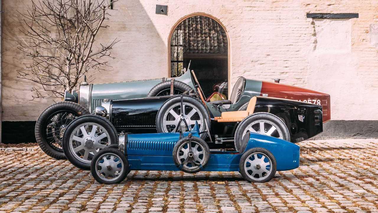 Первые клиентские Bugatti Baby II