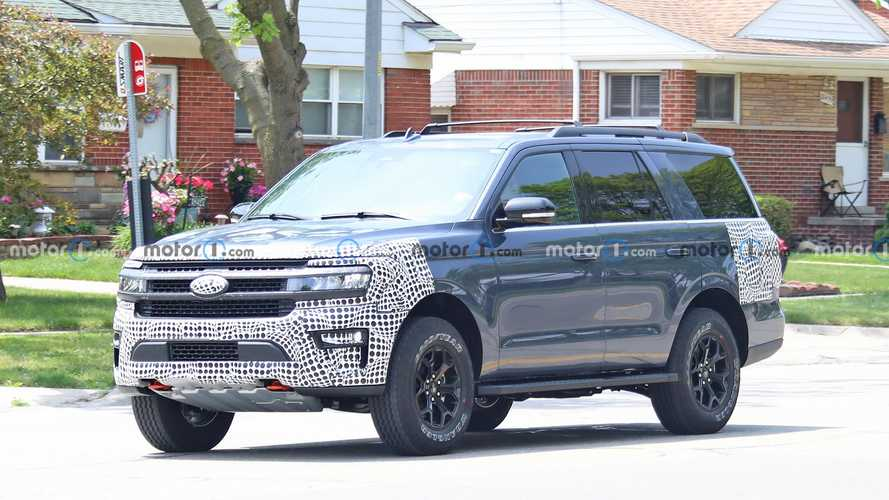2021 Ford Expedition Timberline Yeni Casus Fotoğraflar