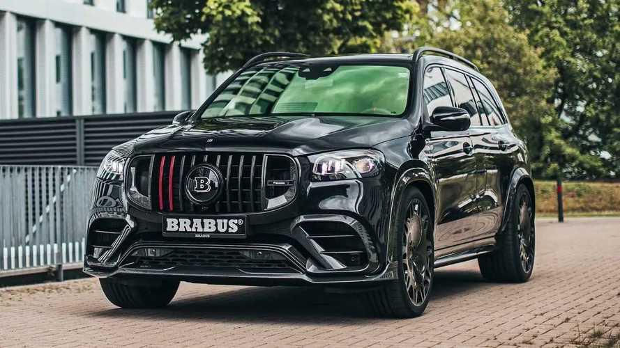 Brabus Turns Mercedes-AMG GLS 63 Into A Devilish Flagship
