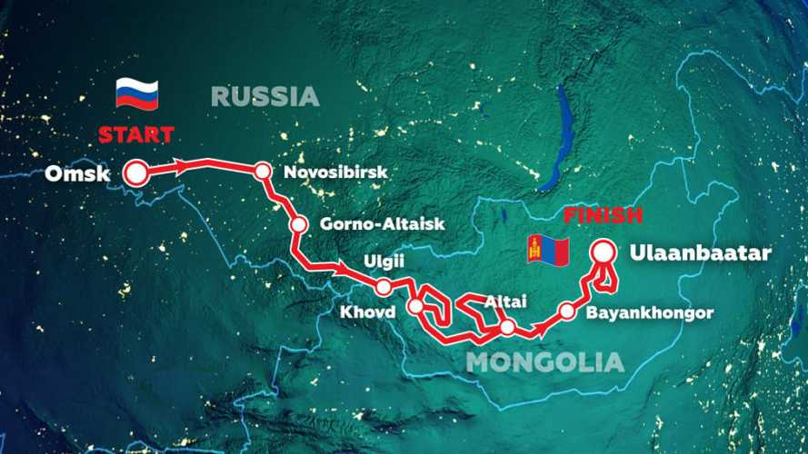Silk Way Rally Releases Detailed 2021 Russian-Mongolian Route