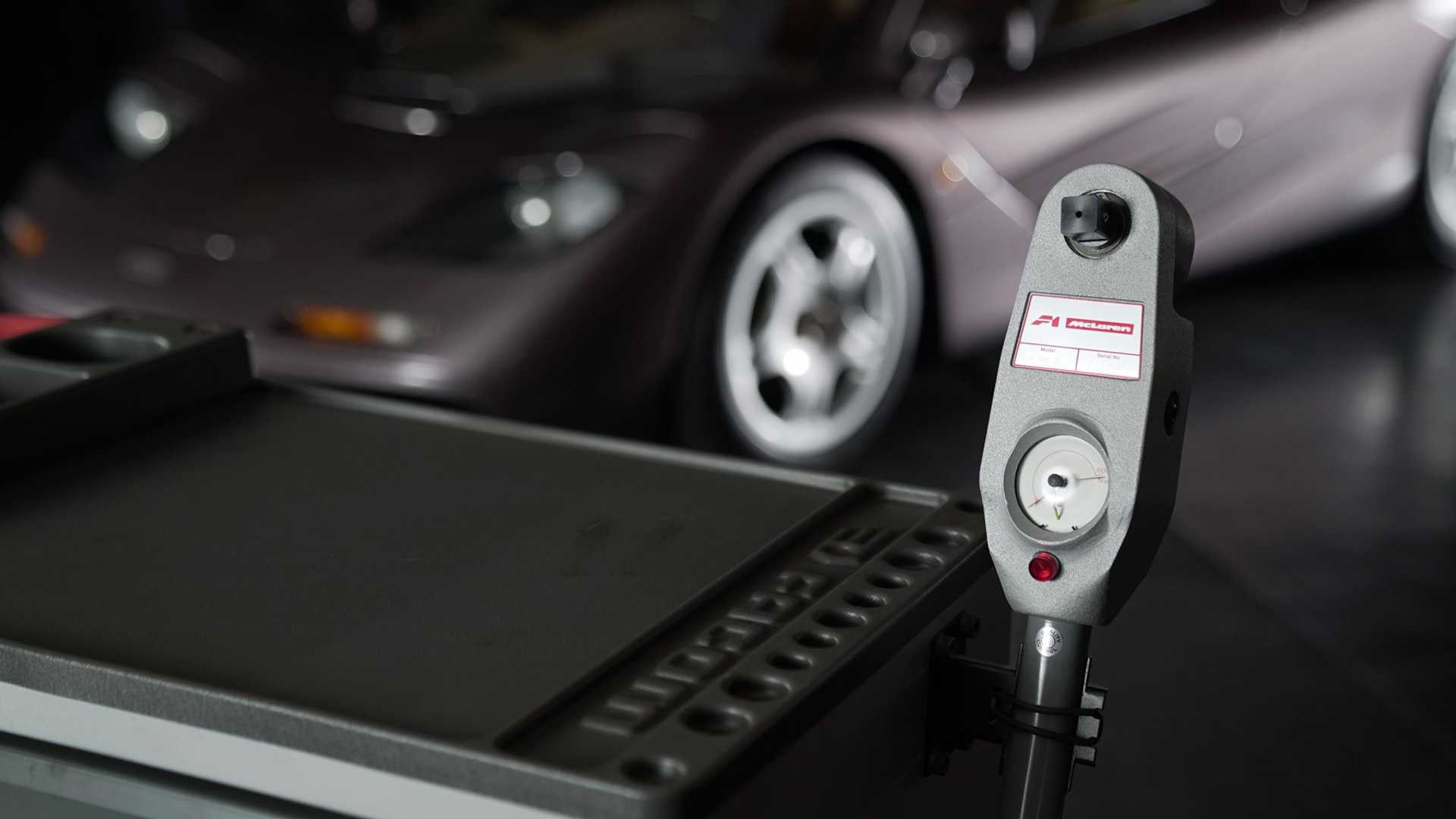 1995 McLaren F1 Gooding And Company Auction 2020 Diagnostic