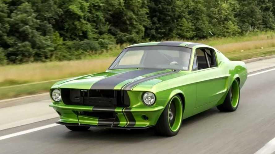 Plus de 600 chevaux pour cette Ford Mustang Restomod!
