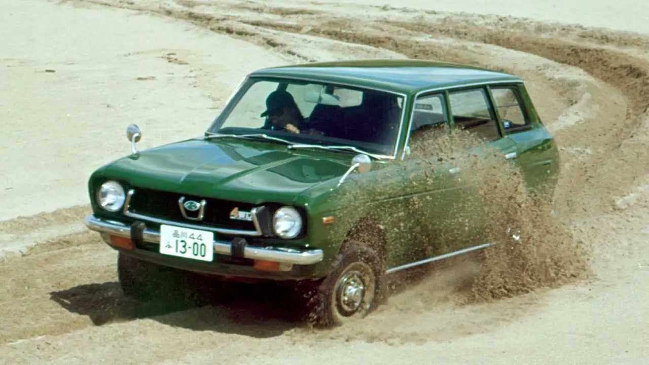 Subaru Leone Station Wagon Modelljahr 1972