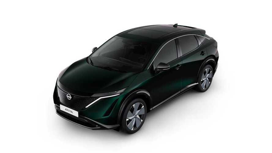 Nissan Ariya Paint Palette
