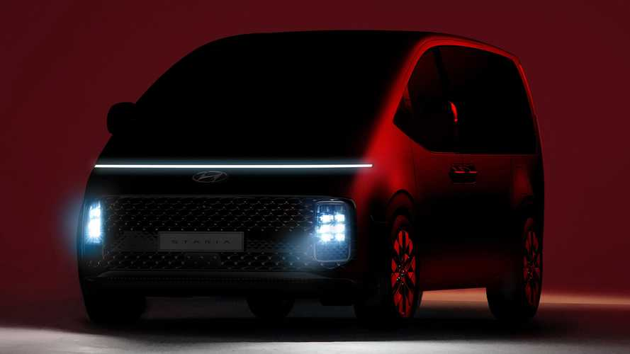Hyundai Staria teased as all-new MPV with premium aspirations