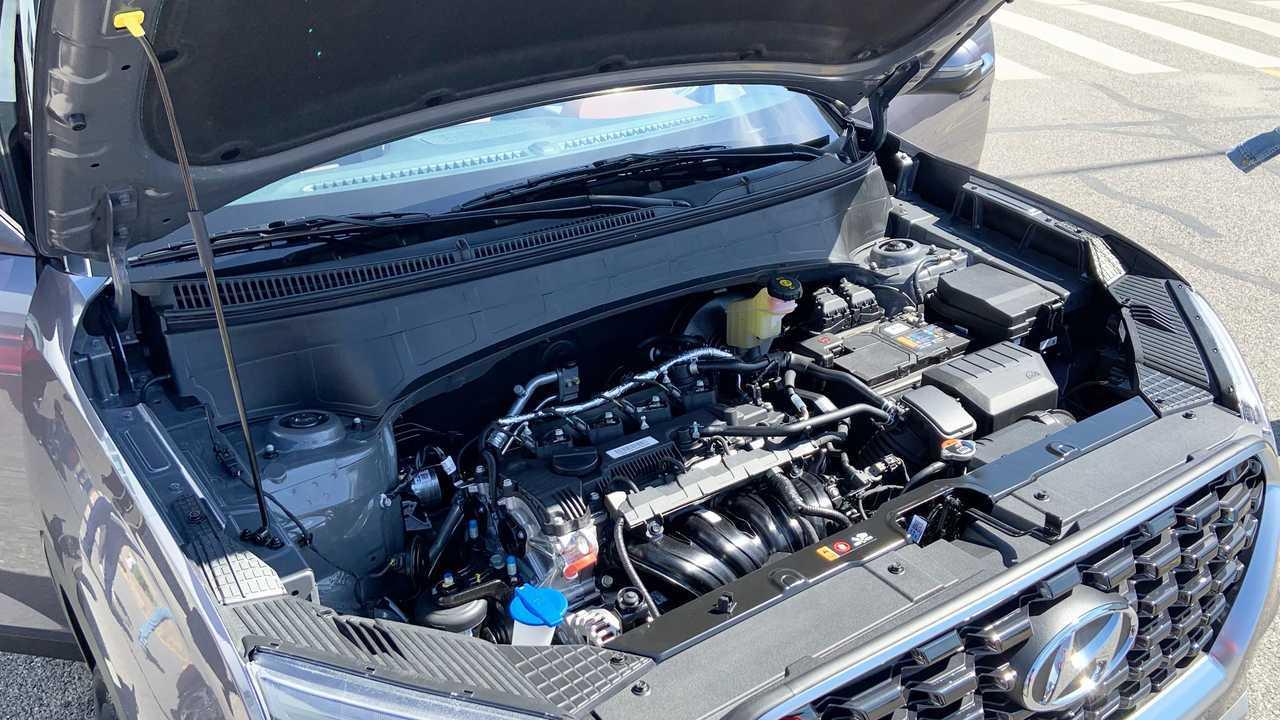 Моторный отсек Hyundai Creta второго поколения для России