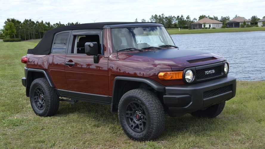 2008 Toyota FJ Cruiser Convertible Is One Cool Open-Top Off-Roader