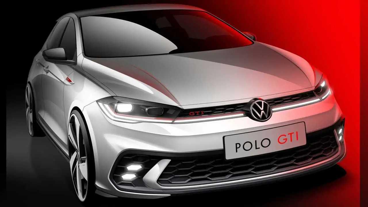 Volkswagen Polo GTI 2021, boceto a modo de teaser
