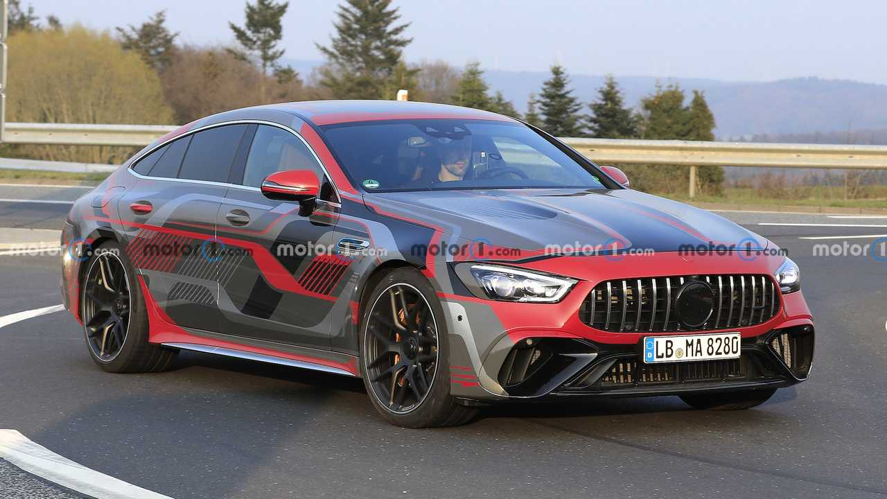 Mercedes-AMG GT73e Spied Wearing E Performance Livery