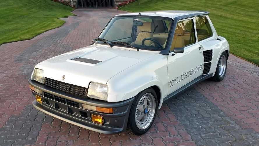 Este Renault 5 Turbo 2 con motor Mazda, vendido en Estados Unidos