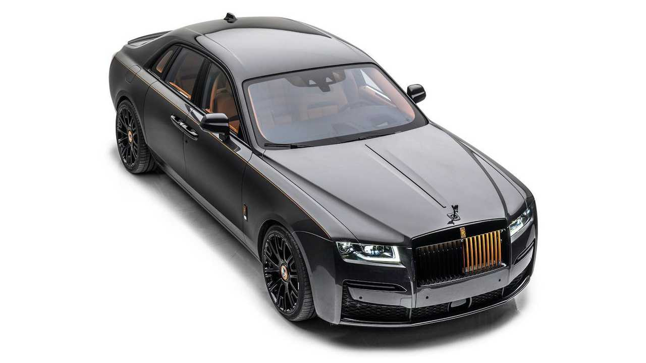 Mansory Launch Edition Rolls-Royce Ghost.