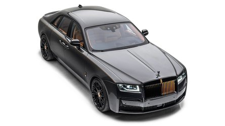 Mansory gives new Rolls-Royce Ghost a modest makeover