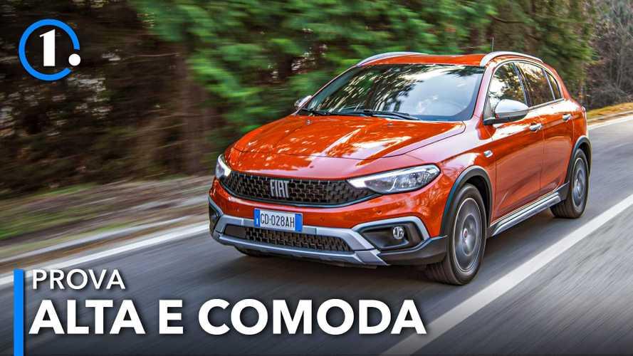 Fiat Tipo Cross, la prova con il 1.0 turbo benzina