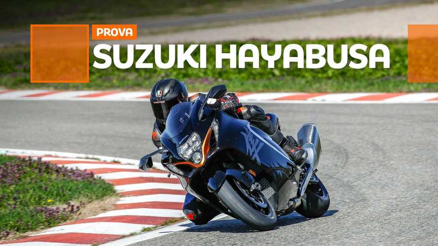 Suzuki Hayabusa 2021 - TEST