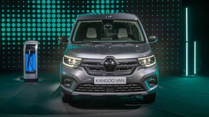 Renault Kangoo Van E-TECH Electric