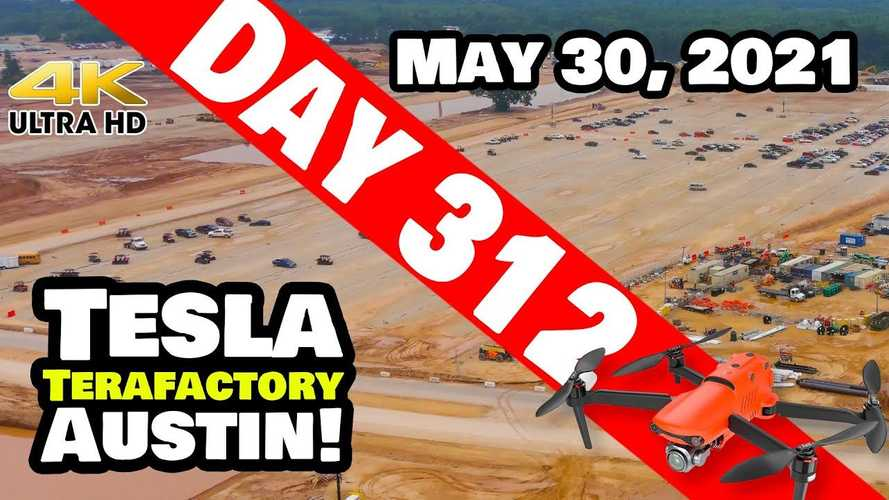 Tesla Giga Austin Shuts Down Activity For A While: May 30, 2021