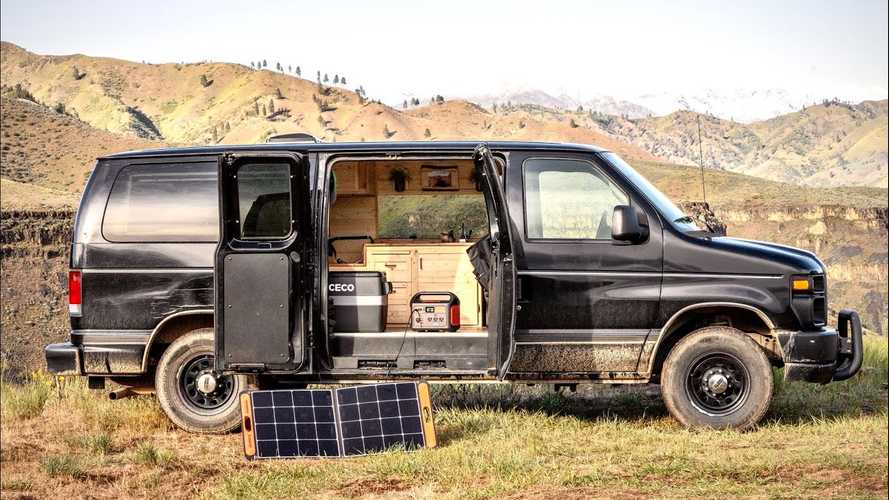 Budget Camper Van Build Has A Bit Of Everything For Under $10k