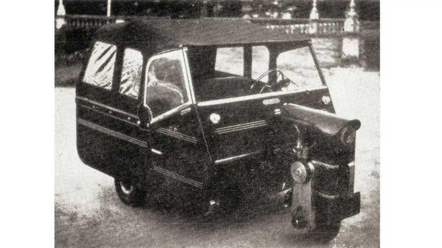 Centaurus: um pioneiro nacional, metade carro, metade motor