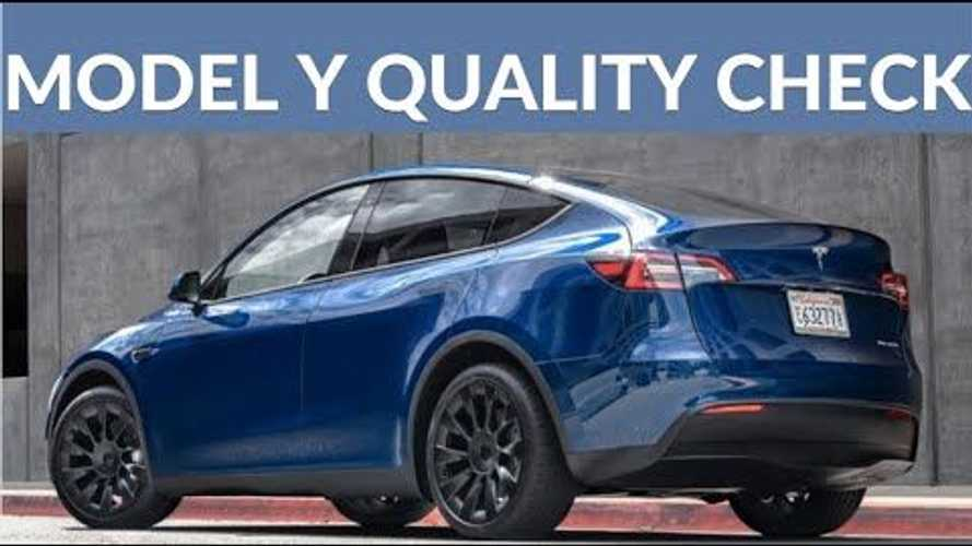 The Electric Man Is Happier With Tesla Model Y Build Quality For April