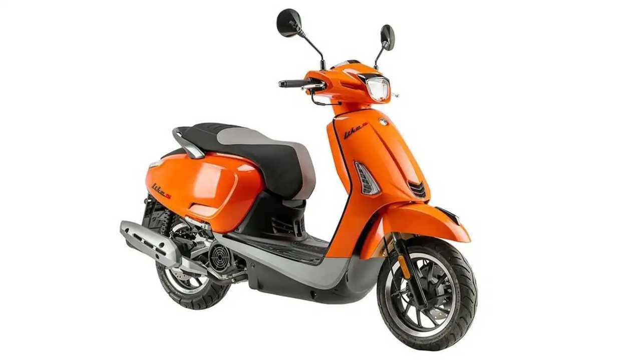 2021 Kymco Like 125 - Orange