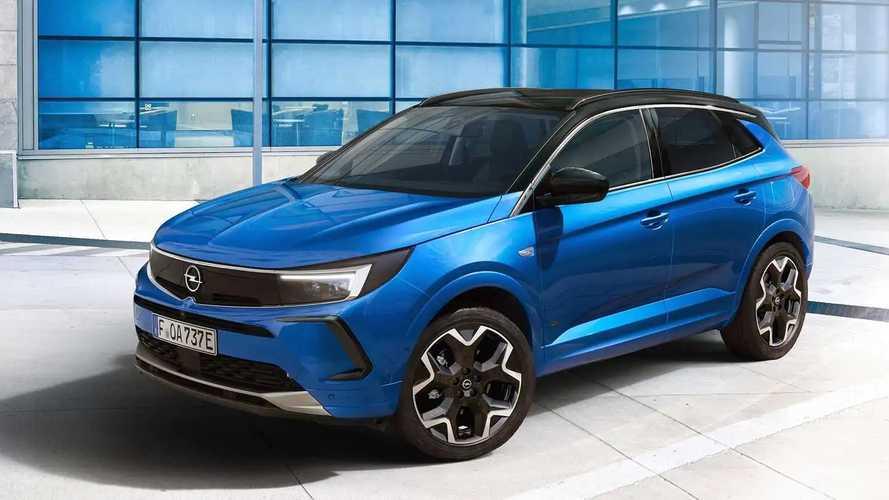 Opel Grandland (2021): Jetzt auch mit Vizor (Update)