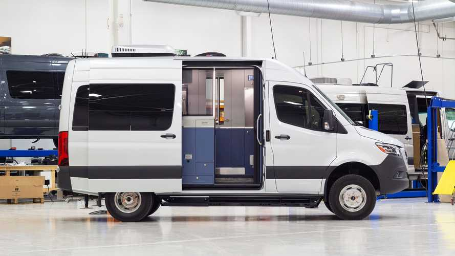 Advanced RV Reveals Kelvin, A Small Camper Van With A Big Home Office