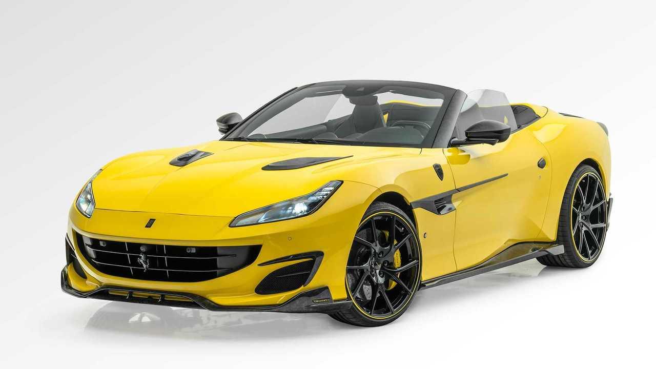 Ferrari Portofino mit Tuning von Mansory